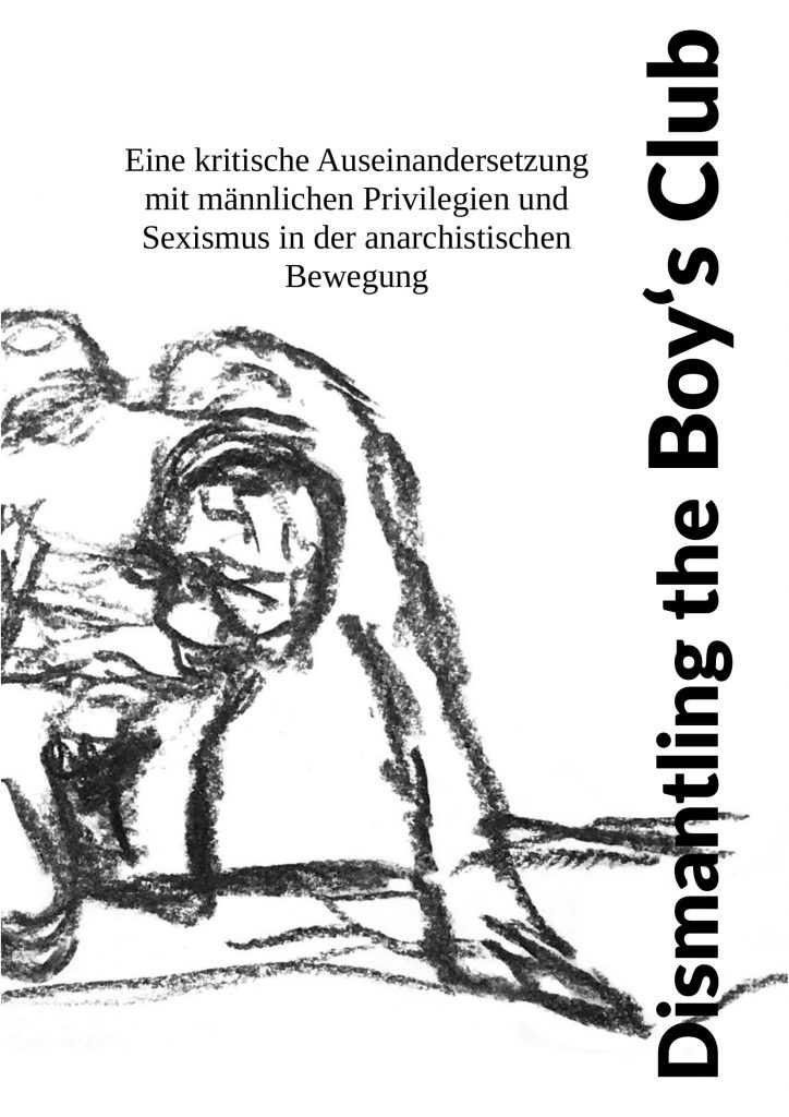 [Cover: Dismantling the Boy's Club]